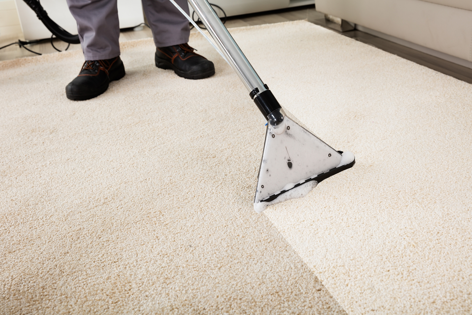 Carpet Cleaning in Toms River - How Hot Water Extraction Works