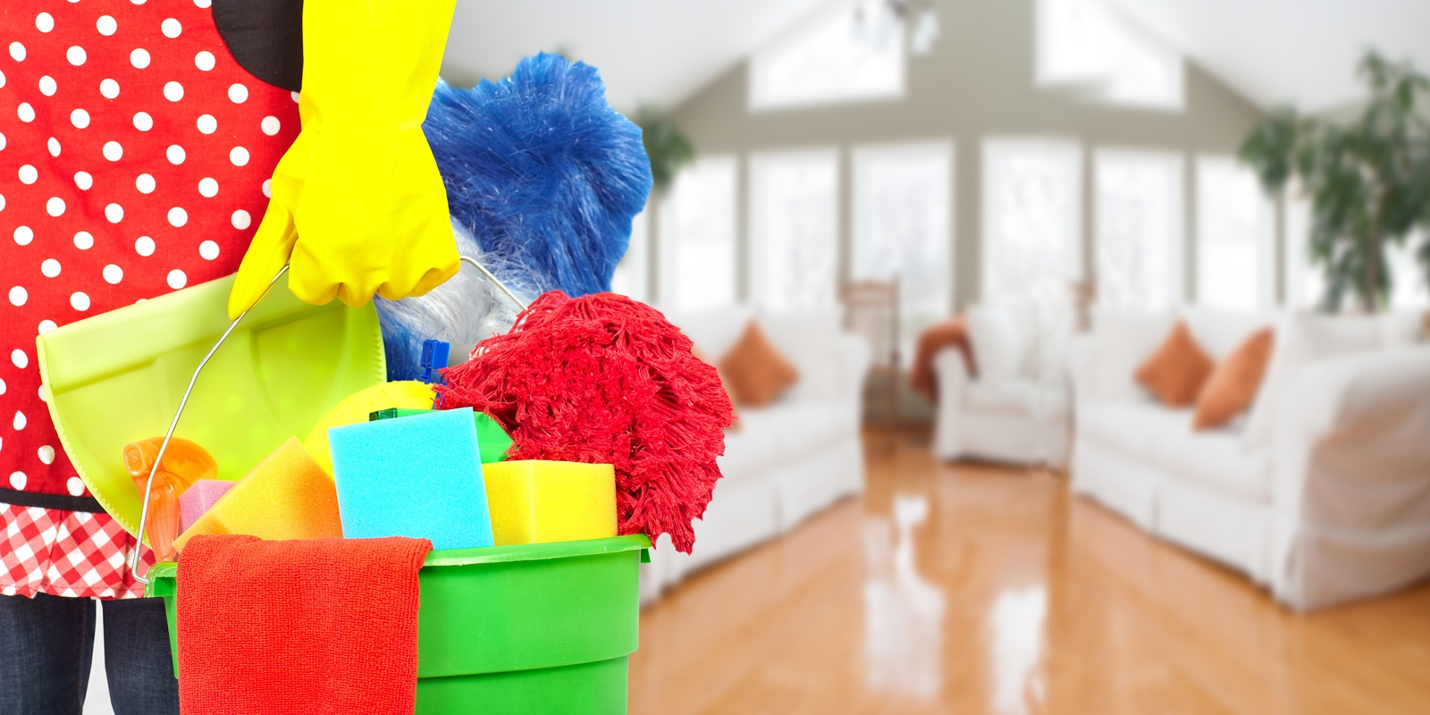 Professional Cleaning Services - End Summer with a Clean Sweep
