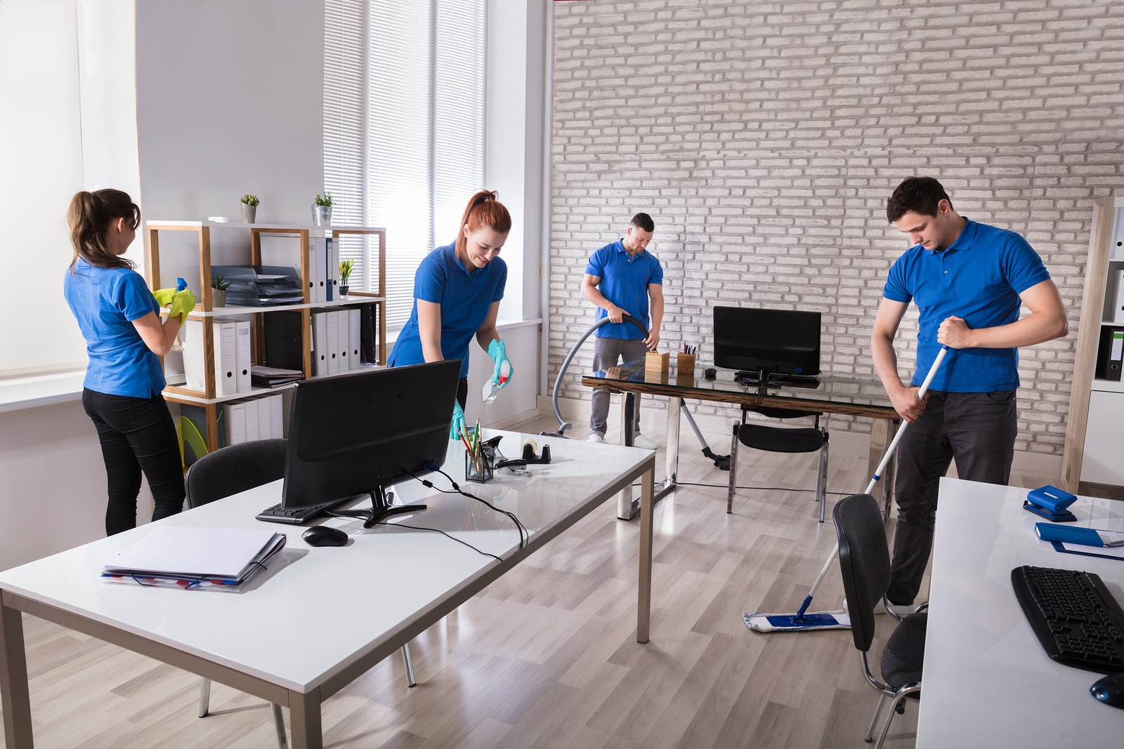 Start the New Year Off Fresh with a Commercial Cleaning Service